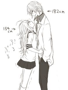 Cute to see short girls with tall boyfriends, makes for interesting, romantic moments.