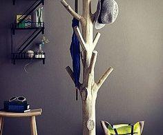 Tree Trunk Coat Rack