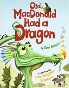 There are not a lot of kids dragon songs but this children's dragon book turned an old favorite about farm animals into a very funny, silly one to sing.
