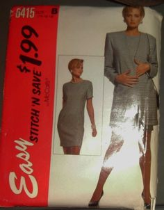 Easy McCALLS Stitch and Save 6415 Pattern