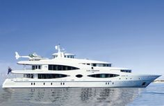 Lady Christine Yacht.  Floating home away from home.  By Priory Home Atelier