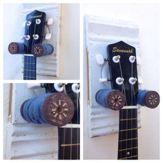 Diy Ukulele Mandolin Wall Hanger House In 2019 Guitar