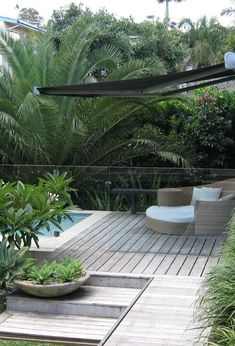 Right here we take a look at 27 ingenious swimming pool fence pointers for household houses, sharing some inventive, enjoyable, and also surprising layouts. Swimming Pool Landscaping, Pool Fence, Backyard Fences, Garden Pool, Backyard Landscaping, Outdoor Pool, Outdoor Gardens, Bali Stil, Backyard Pool Designs