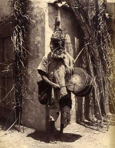 Algérie - Un sorcier Soudanais Circa 1880
