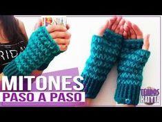 Video tutorial gratis manopla o mitón niña a crochet Crochet Gloves Pattern, Crochet Stitches, Crochet Patterns, Crochet Diy, Love Crochet, Wrist Warmers, Hand Warmers, Fingerless Mittens, Crochet Bracelet