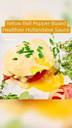 Gluten Free Recipes, Low Carb Recipes, Cooking Recipes, Healthy Hollandaise Sauce, Healthy Eating Recipes, Healthy Eats, Clean Breakfast, Quick Meals, Meal Prep