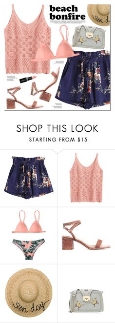 """Beach Bonfire"" by oshint ❤ liked on Polyvore featuring Eugenia Kim and Smashbox"