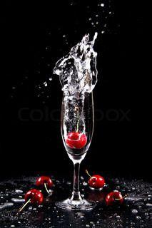 cocktail - with a splash bubble!