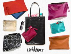 Etsy Finds // Leah Lerner Bags & Accessories | Anne Rue