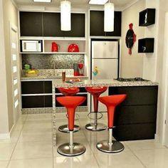 Resultado de imagem para mini cocinas modernas