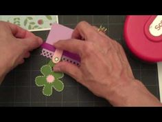 Birthday Greeting-Fabulous Finds Cricut Cartridge.  Love this.  Gives great directions on this video, pg #'s in cricut cart manual.