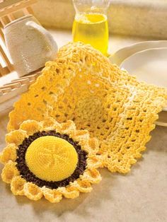 Kitchen Duo ~  Scrubbie  Dishcloth: free patterns
