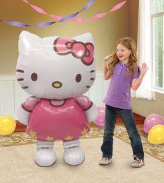 Chodící foliový balonek Hello Kitty 127cm x 76cm | BALONKY .CZ
