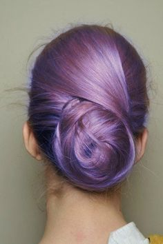 I love purple hair!!!