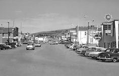 Peace River town, Alberta ca1962