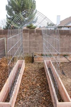 DIY Trellis and Raised Garden Box Combo