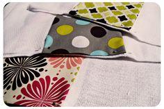 Burp cloths (using cloth diapers!)
