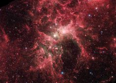 Eta Carinae is one of the most luminous known star systems in our galaxy seen here in this photo released on Aug. 26, 2014.