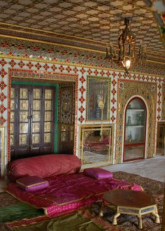 City Palace, a palace complex located in Jaipur, Rajasthan in India, was the royal seat of the King of Jaipur and the leader of the renowned Kachwaha Rajput