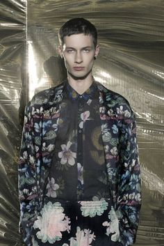 AT DRIES VAN NOTEN HOMME SS14Photos by Filep Motwary. See more on Vogue.fr