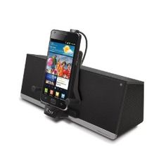 iLuv iMM375BLK MobiDock, Stereo Speaker Dock for Android Smartphones and Kindle Fire/Kindle Touch (Black) (Electronics)
