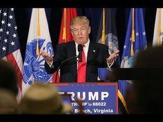 FULL EVENT: Donald Trump Speech on Veterans' Reform in Virginia Beach, V...