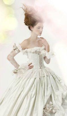 Amelia Casablanca 2011 Bridal ~ Debbie Orcutt  ❤