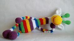 giraffa a uncinetto / crochet tecnica amigurumi. Giocattolo. https://www.facebook.com/211658135545328/photos/pb.211658135545328.-2207520000.1435676665./966237903420677/?type=3&theater