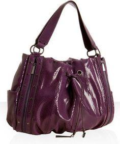 Aubergine 'Mary' bag - Hype...ooooooo