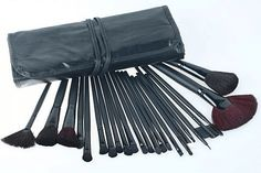 $23 for a 24-Piece Make-Up Brush Kit w/ Carrying Case - Shipping Included