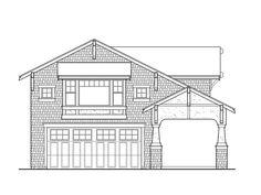 Garage Apartment Plan, 035G-0015