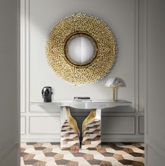 Mirrors have always been connected to beauty and appeareance, besides being a practible elemement for your apartment, it provides a clean and sophisticated look to any space.
