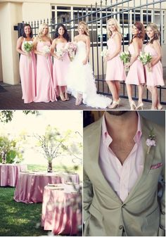 love colors. only short dresses. and love the first bridesmaid dress (blonde girl)