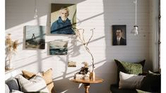 A Magically Restorative, Tasmanian Waterfront Getaway Victorian Sheds, Shed Design, House Design, Space Up, Single Bedroom, Green Carpet, The Design Files, Interior Stylist, Mid Century House