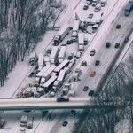 Near to 200 #autos_heap up yesterday  #morning in #Michigan   Fight CREEK, Mich. – one individual was killed and 16 were harmed Friday morning in a pileup including 193 vehicles on Interstate 94. One truck was convey a destructive substance. An alternate truck included in the pileup was convey firecrackers that blasted.