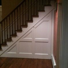 Door Under Stairs Home Design Ideas, Pictures, Remodel and Decor