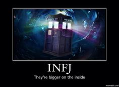 Ohh how I love this ... very true and I really like the idea of being a tardis ... does that mean i am sexy XD