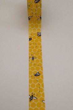 Honey Comb and Bees Washi Tape 18 Sample von WashiLoveStory auf Etsy
