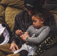 MGK and daughter Cassie