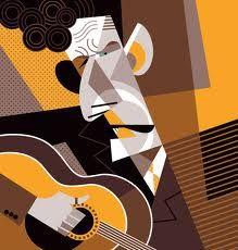 Pablo Lobato -Lyle Lovett illustration for Paste Magazine Graphic Design Illustration, Graphic Art, Illustration Art, Art Pop, Cubist Art, Art Beat, Music Drawings, Movie Poster Art, Funny Art