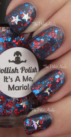 Dollish Polish: It's A Me, Mario! (Super Mario Bros Collection)