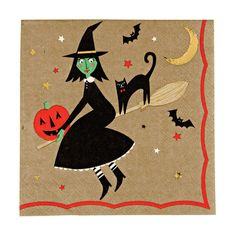 Paper Napkins - Wicked Witch