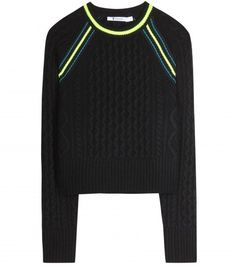 T by Alexander Wang Cable-knit sweater
