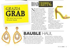 As seen in Grazia Bauble Haule Summer implies pared down basics, whites and easy silhouettes. The key is to dress it up with statement, eye-grabbing baubles and the jewellery by Reliance jewels fits the bill perfectly. Accessorize a simple tunic with an elaborate cuff or dress that sari up with a chunky necklace. Our top pick for the season is a pair of minimal earrings in a combination of gold, diamonds and rubies. Understated yet classy, the earring can be worn with nearly anything from…