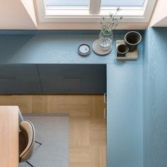 Note Design Studio rejects white in renovated Stockholm apartment
