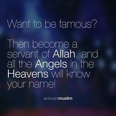 Want to be famous?