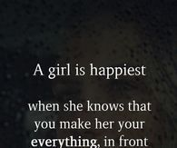 What to tell your gf to make her happy