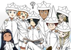 "pues aquí son imágenes del anime ""the promised Neverland"" xD, van a v… # Fanfic # amreading # books # wattpad Otaku Anime, Manga Anime, Anime Art, Anime Expo, Fanarts Anime, Anime Demon, Neverland, Kawaii Anime, Norman"
