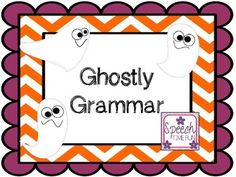 Have fun identifying correct and incorrect sentences with this fun Halloween themed activity!Students will be able to determine if the sentences have appropriate noun and verb tenses.Use as a card game or with any motivating game/activity!Sentences are Halloween related as well!---------------------------------------------------------------------------Like this product?