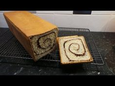 This is a very tasty loaf, flavoured with a lovely swirl of cinnamon. Made in a Pullman loaf tin it is the perfect slzed slices for toasting for breakfast. Pullman Bread, Cinnamon Swirl Bread, Bread Board, White Bread, Raisin, Food To Make, Homemade, Tarts, Baking